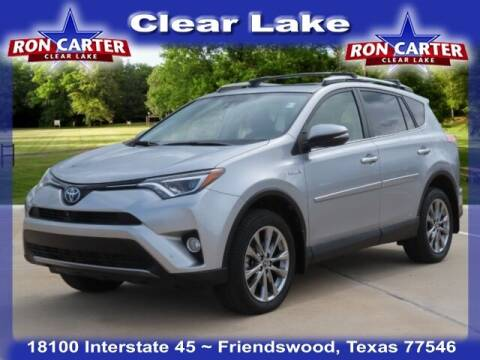 2017 Toyota RAV4 Hybrid for sale at Ron Carter  Clear Lake Used Cars in Houston TX