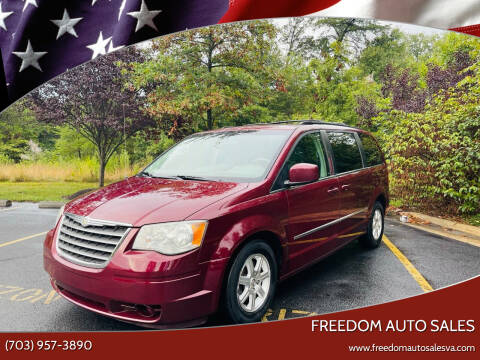 2009 Chrysler Town and Country for sale at Freedom Auto Sales in Chantilly VA