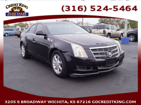 2008 Cadillac CTS for sale at Credit King Auto Sales in Wichita KS