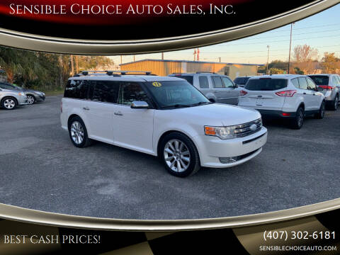 2012 Ford Flex for sale at Sensible Choice Auto Sales, Inc. in Longwood FL