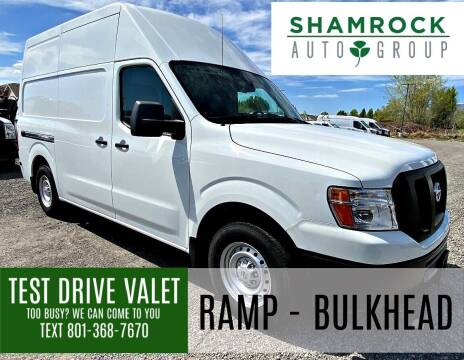 2018 Nissan NV Cargo for sale at Shamrock Group LLC #1 in Pleasant Grove UT