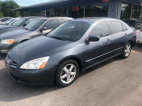 2003 Honda Accord for sale at Wise Investments Auto Sales in Sellersburg IN