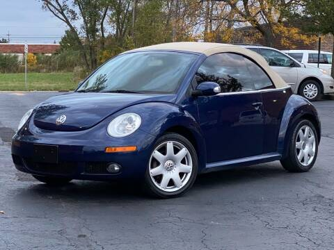 2006 Volkswagen New Beetle Convertible for sale at Schaumburg Motor Cars in Schaumburg IL