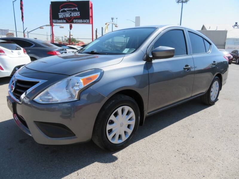 2018 Nissan Versa for sale at Moving Rides in El Paso TX