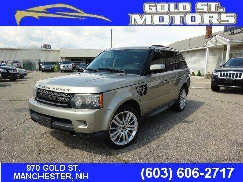 2012 Land Rover Range Rover Sport for sale at Gold St. Motors in Manchester NH