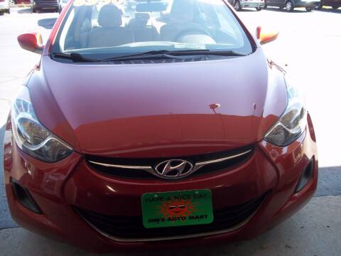 2011 Hyundai Elantra for sale at JIMS AUTO MART INC in Milwaukee WI