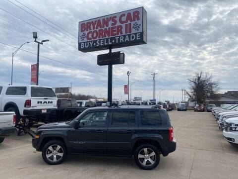 2016 Jeep Patriot for sale at Bryans Car Corner in Chickasha OK