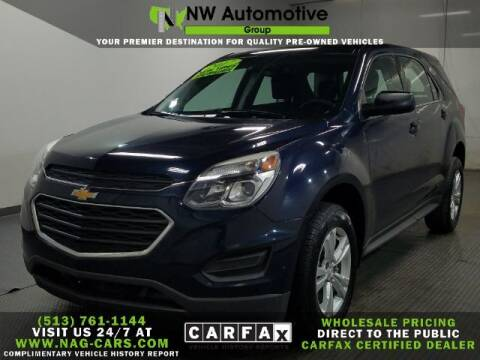 2017 Chevrolet Equinox for sale at NW Automotive Group in Cincinnati OH