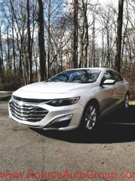 2020 Chevrolet Malibu for sale at Source Auto Group in Lanham MD