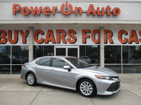 2020 Toyota Camry for sale at Power On Auto LLC in Monroe NC