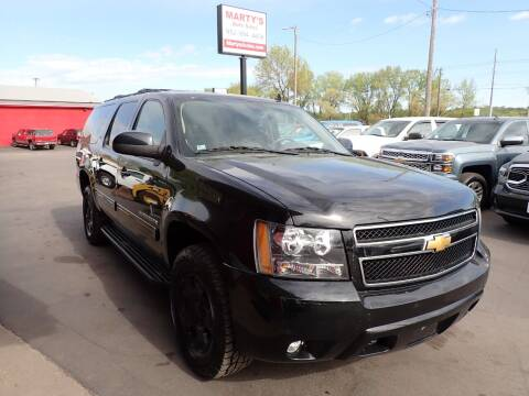 2010 Chevrolet Suburban for sale at Marty's Auto Sales in Savage MN