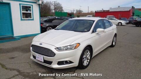 2013 Ford Fusion for sale at RVA MOTORS in Richmond VA