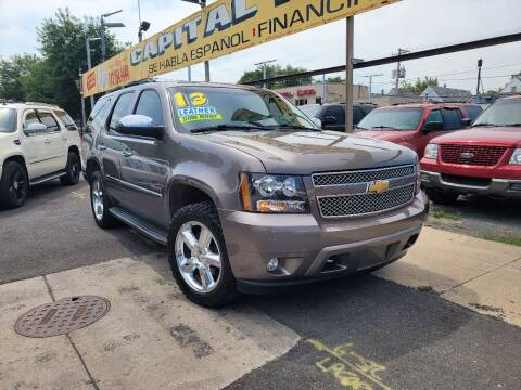 2013 Chevrolet Tahoe for sale at Capital Motors Credit, Inc. in Chicago IL