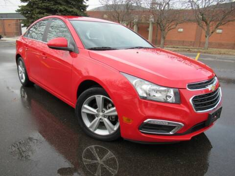2015 Chevrolet Cruze for sale at Perfection Auto Detailing & Wheels in Bloomington IL