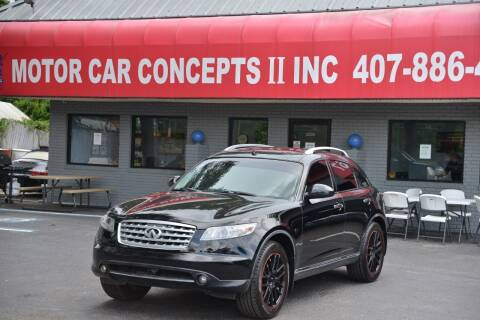2008 Infiniti FX35 for sale at Motor Car Concepts II - Kirkman Location in Orlando FL