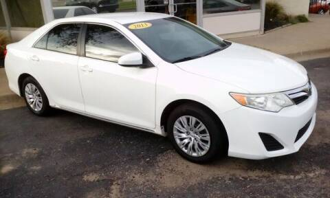 2013 Toyota Camry for sale at Jim Clark Auto World in Topeka KS