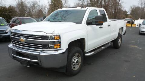 2016 Chevrolet Silverado 2500HD for sale at JBR Auto Sales in Albany NY