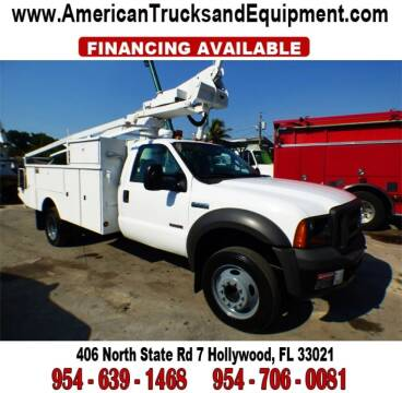 2005 Ford F-450 Super Duty for sale at American Trucks and Equipment in Hollywood FL