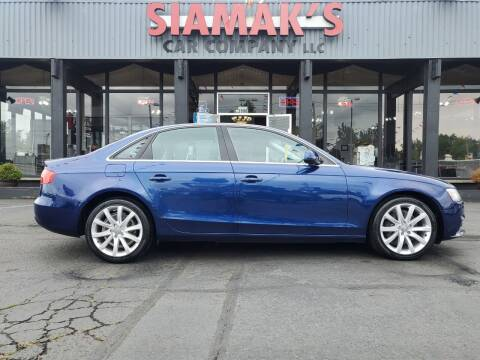 2013 Audi A4 for sale at Siamak's Car Company llc in Salem OR