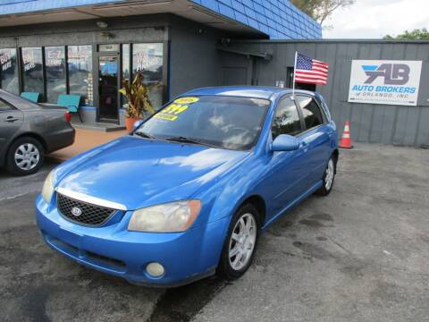 2006 Kia Spectra for sale at AUTO BROKERS OF ORLANDO in Orlando FL