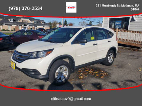 2014 Honda CR-V for sale at ELITE AUTO SALES, INC in Methuen MA