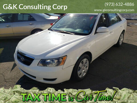 2007 Hyundai Sonata for sale at G&K Consulting Corp in Fair Lawn NJ