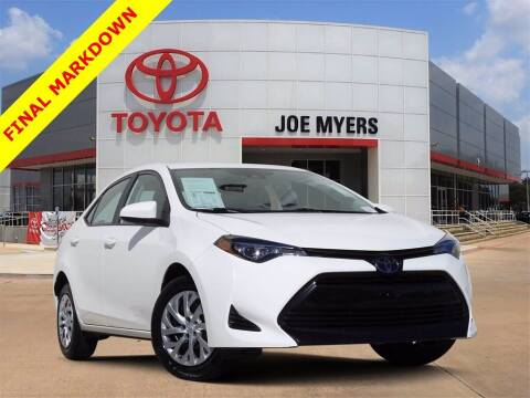 2019 Toyota Corolla for sale at Joe Myers Toyota PreOwned in Houston TX