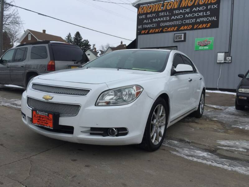2010 Chevrolet Malibu for sale at Knowlton Motors, Inc. in Freeport IL