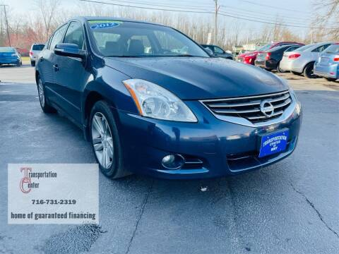 2012 Nissan Altima for sale at Transportation Center Of Western New York in Niagara Falls NY