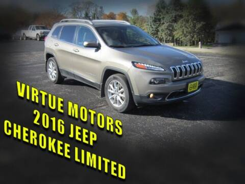 2016 Jeep Cherokee for sale at Virtue Motors in Darlington WI
