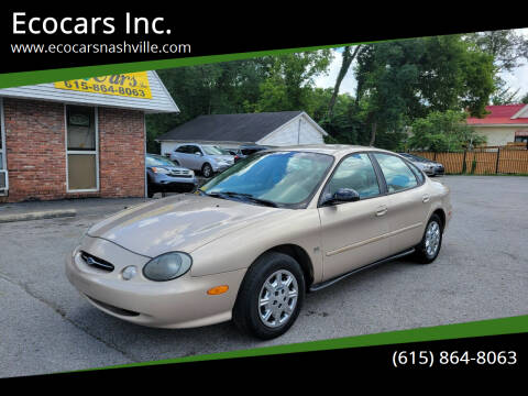 1998 Ford Taurus for sale at Ecocars Inc. in Nashville TN