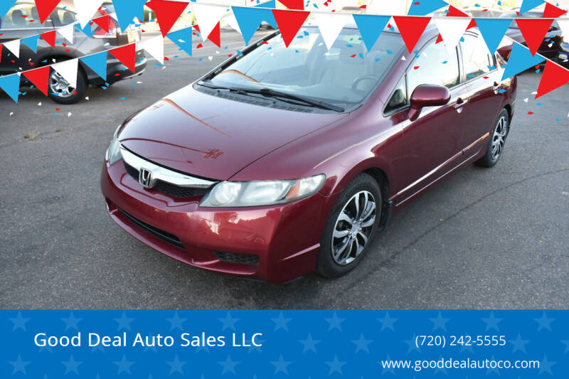 2010 Honda Civic for sale at Good Deal Auto Sales LLC in Denver CO