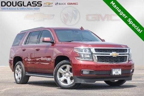 2017 Chevrolet Tahoe for sale at Douglass Automotive Group - Douglas Ford in Clifton TX