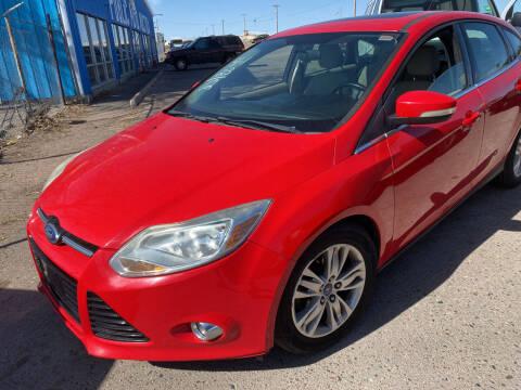 2012 Ford Focus for sale at PYRAMID MOTORS - Pueblo Lot in Pueblo CO
