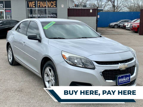 2016 Chevrolet Malibu Limited for sale at Stanley Direct Auto in Mesquite TX