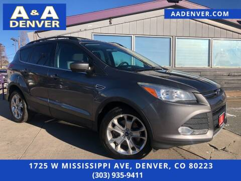 2013 Ford Escape for sale at A & A AUTO LLC in Denver CO