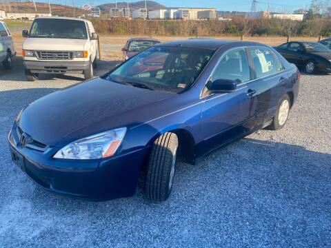2003 Honda Accord for sale at Bailey's Auto Sales in Cloverdale VA