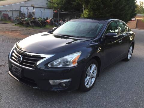 2014 Nissan Altima for sale at CAR STOP INC in Duluth GA