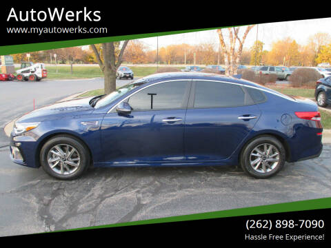 2019 Kia Optima for sale at AutoWerks in Sturtevant WI