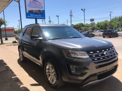 2017 Ford Explorer for sale at Magic Auto Sales in Dallas TX