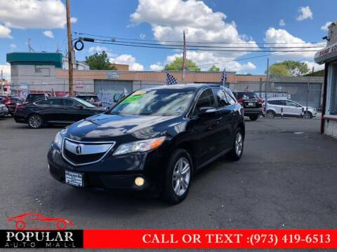 2013 Acura RDX for sale at Popular Auto Mall Inc in Newark NJ