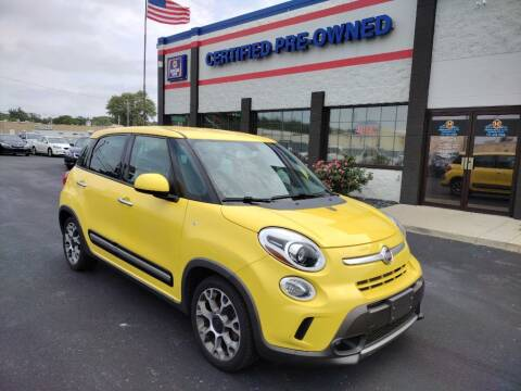 2014 FIAT 500L for sale at Ultimate Auto Deals DBA Hernandez Auto Connection in Fort Wayne IN