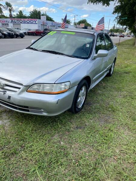 2002 Honda Accord for sale at WRD Auto Sales in Hollywood FL