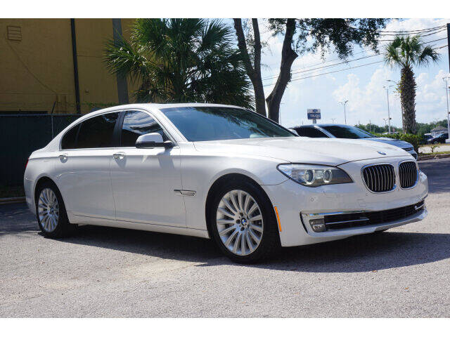 2013 BMW 7 Series for sale at Winter Park Auto Mall in Orlando FL