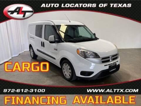 2016 RAM ProMaster City Cargo for sale at AUTO LOCATORS OF TEXAS in Plano TX