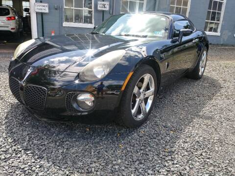 2009 Pontiac Solstice for sale at Nerger's Auto Express in Bound Brook NJ