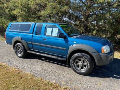 2002 Nissan Frontier for sale at Kansas Car Finder in Valley Falls KS