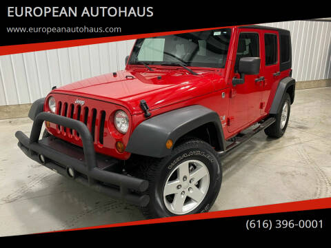 2009 Jeep Wrangler Unlimited for sale at EUROPEAN AUTOHAUS in Holland MI