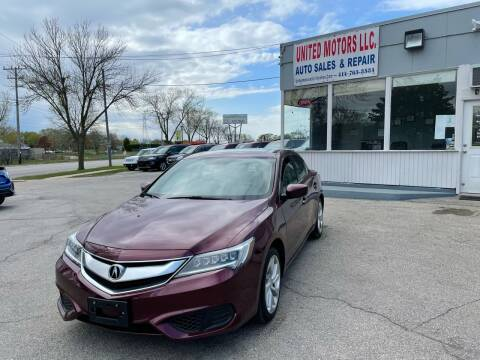 2016 Acura ILX for sale at United Motors LLC in Saint Francis WI