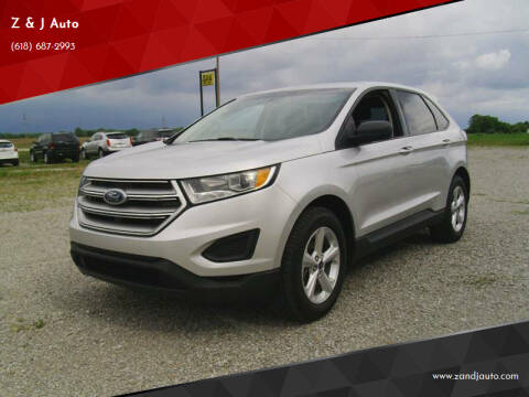 2015 Ford Edge for sale at Z & J Auto in Murphysboro IL